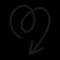 arrow-down-1